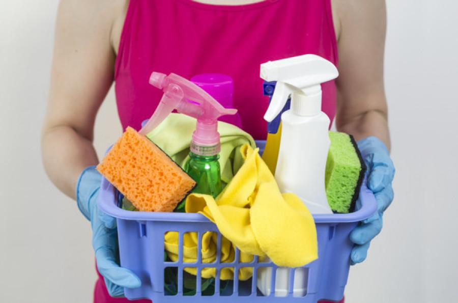 Limpia los utensilios con los que limpias