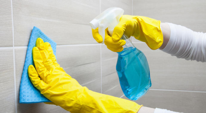 Rutina de limpieza planeada